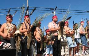 Karuk Dance, Bigfoot Jamboree Parade, Happy Camp,