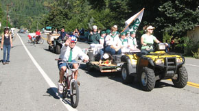 River Valley 4H Club in Seiad Parade