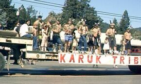 Karuk Tribe Dancers 2001