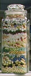 The Clinic Pharmacy Pill Jar