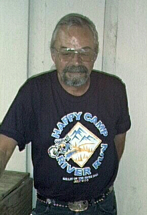 John Gould wearing a 2001 River Run shirt