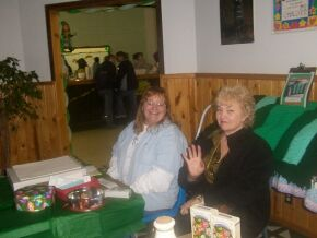 Donna McCulley and Rosemary Boren