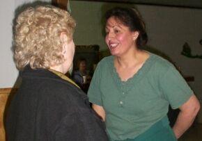 Rosemary Boren and DJ Vivian Jordan.