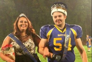 homecoming Royalty, Nikki arrison and Brett Burcell reigned Friday