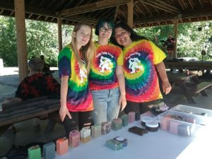 Summer, Stormy & Cheyanne had fabulous soaps!!